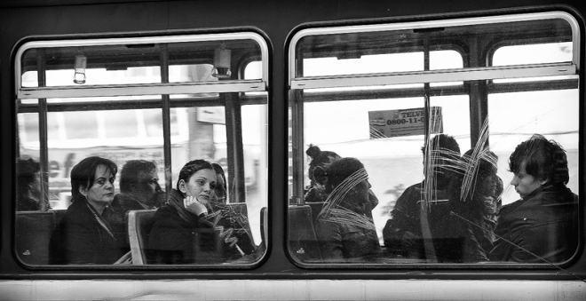 public transport window